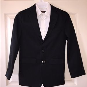 Dockers Boys Size 12 Black Suit